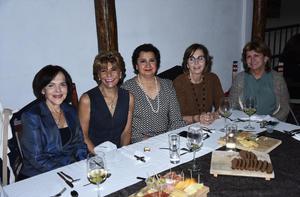 08122019 Paty, Carmina, Alejandra, Helve y Eliza.