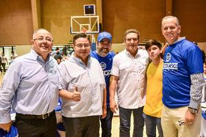 07122019 EXBORREGOS SE REúNEN.  Luis Borrego, Alejandro Martínez, Raúl Domínguez, Gerardo Handam, Luis Borrego Jr. y Jorge Montaña.