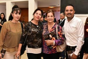09122019 EN UN EVENTO CULTURAL.  María, Bety, Mine y Roberto.
