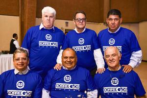 08122019 ENTRE AMIGOS Y ANéCDOTAS.  Quintin Ruiz, Eduardo Burgos, Luis Cantú, Víctor González, Jaime Ramírez y Fernando Martínez.