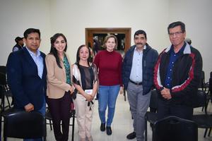 09122019 Edgar, Nadia, Alicia, Susana, Gerardo y Pedro.