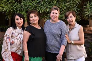 08122019 LA FOTO DEL RECUERDO.  Gris, Meche, Marisol y Lupita.