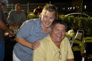 08122019 EN UN CURSO DE PARRILLERíA.  Fabiola y Alfredo.
