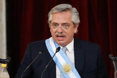 Recalcó que llega al poder para 'convocar a la unidad de toda la Argentina'.
