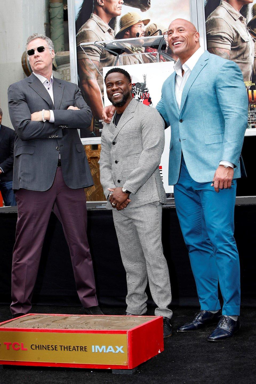 Kevin Hart coloca sus huellas en 'Walk of Fame de Hollywood'