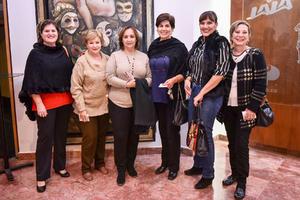 10122019 'Güera', María Luisa, Coco, Martha, Elda y Blanca.