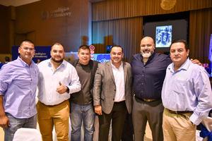10122019 Ricardo Arreola, Fernando Martínez, Saúl López, Adolfo López, Orlando Martínez y Carlos Vielma.