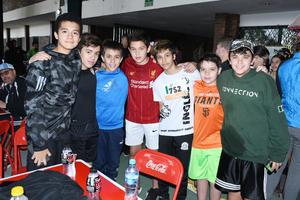 10122019 Luis, Rodrigo, Juan Pablo, Paulo, Dante, Diego y Rodrigo.