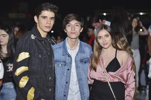 Iker, Alberto y Regina