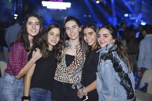 Luisa, Ana Sofía, Carola, Renata e Ivanna