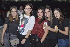 María Martha, Fernanda, Marifer, Renata y Ana Sofía