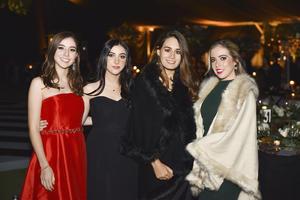 Mariangel, Mariana, Natalia y Valeria
