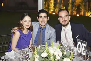 Valeria, Alfonso y Memo