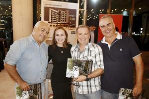 Ricardo, Claudia, Antonio y Jose Francisco