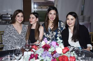 Ana, Paty, Marifer, Mariana y Ana Cristina