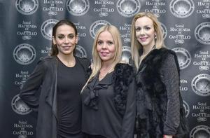 Monica de Rio,Edna Humphrey y Liliana Gonzalez.