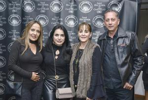 Pina,Monica,Monica y Virgilio