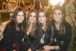 Ana Cris, Ivana, Sofia y Andrea