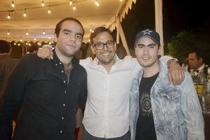 Daniel, Pablo y Alberto