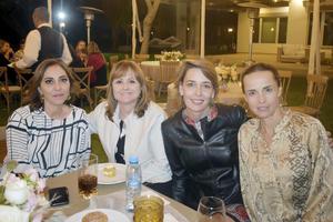Luzma, Consuelo, Olga y Lorena