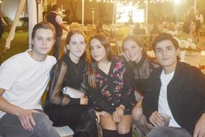 Ricardo, Manuela, Angelica, Regina y Daniel
