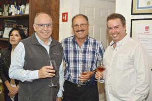 Pedro, Nacho y Alberto.