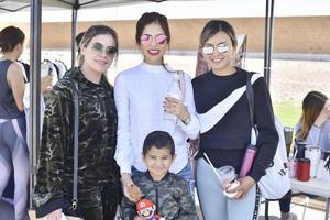 Brisa, Alejandra, Isela y karim