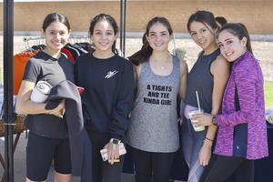 Miranda, Fernanda, Birdo, Jésica , Paulina