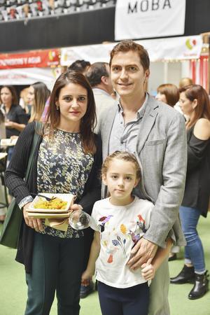 José, Sonia y Noor