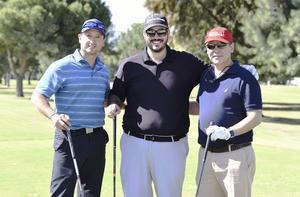 Fernando, José Luis y Mauricio