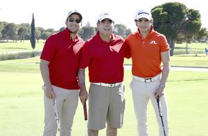 Gonzalo Villegas, Roberto Garrido y Roberto Garrido Jr.