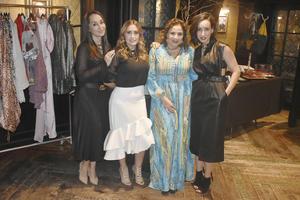 Venea, Angie, Lizath y Lorenia.