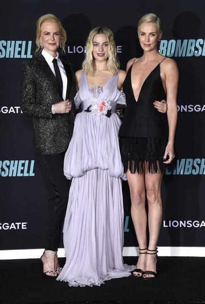 Nicole Kidman, Margot Robbie y Charlize Theron 2.