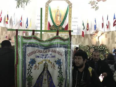 El monseñor Luis Martín Barraza resaltó que esta celebración es para agradecer a la Virgen María que alienta nuestra esperanza.