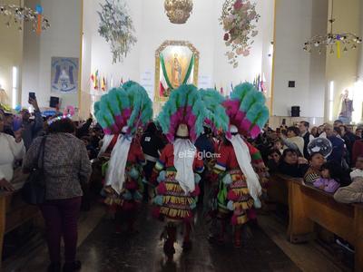 Laguneros cantan las mañanitas a la Virgen de Guadalupe