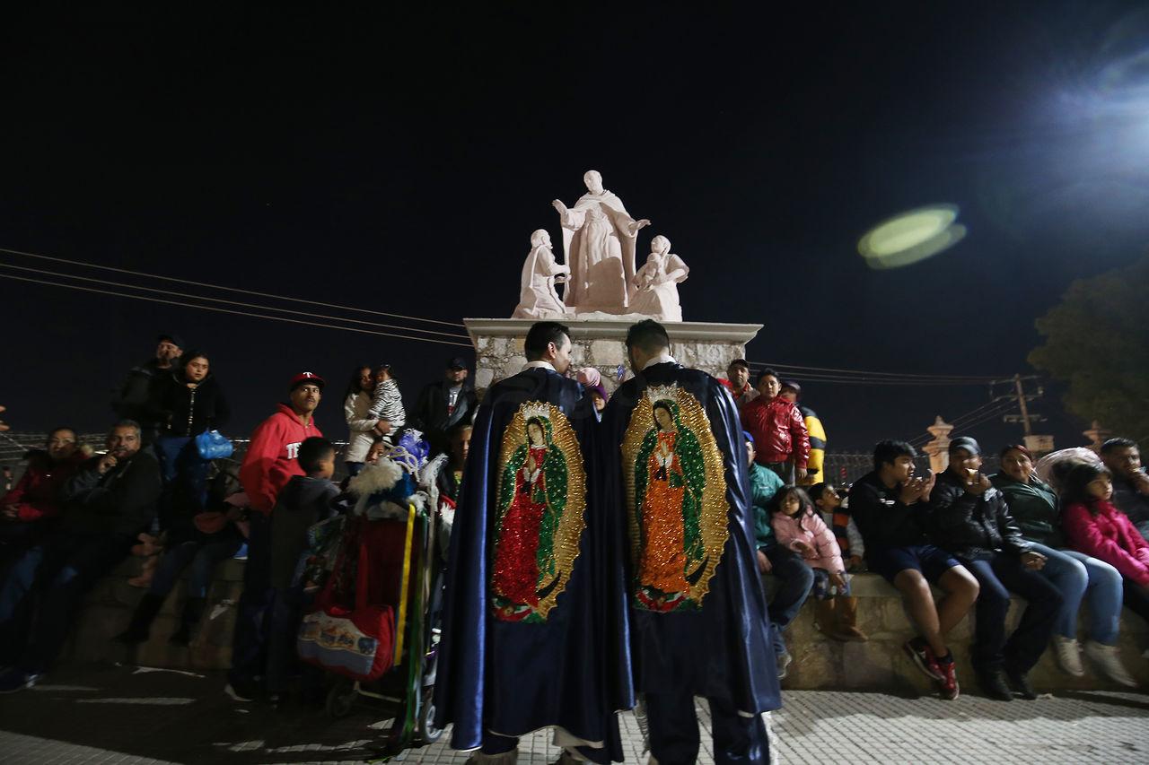 Duranguenses se encomiendan a la Virgen de Guadalupe
