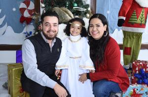 13122019 Ricardo Torres, Sofía Torres y Nadia Aguilar.