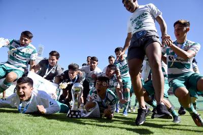 Santos Sub-20 se consagra Campeón del Apertura 2019