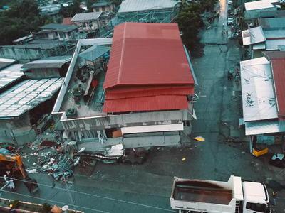 Pudo percibirse en el sur de Filipinas.