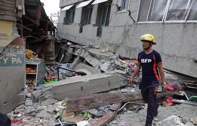 Además, el terremoto dejó víctimas mortales.