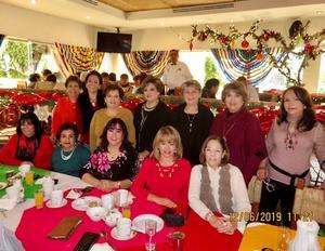 15122019 REUNIóN ENTRE AMIGAS.  Lupita, Cori, Marthita, Bety, Silvia, Ana María, Frida, Almita, Mily, Nena, Libertad y Gracielita.