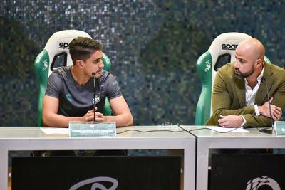 Erick Sotomayor Ruiz    NUEVO REFUERZO CLUB SANTOS LAGUNA VAN RANKIN.