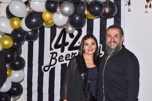 16122019 UN AñO MáS DE VIDA.  Jorge Perea disfrutó de su fiesta de cumpleaños la que fue organizada por su esposa Lily Ramírez.