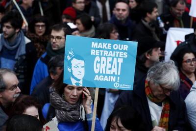 La reforma es promovida por el presidente Emmanuel Macron.