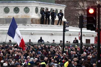 Hasta el momento las manifestaciones se realizan pacíficamente.
