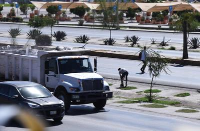 Peligro en periférico. El periférico de Torreón es considerado como una de las vías con mayor número de accidente a ciudadanos que intentar cruzar la peligrosa vialidad.