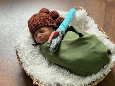 Hospital de Florida viste a recién nacidos de personajes de Star Wars