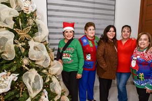 20122019 Marisela, Rosy, Luly, Lucy y Sonia.