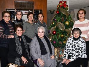 20122019 POSADA DEL GRUPO DE AMIGAS ARAñITAS.  Ildelisa, Lourdes, Mague, Martha, Mily, María Elena, Tita y Tere.