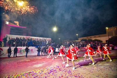Desfile Luz y Magia ilumina las calles de Torreón